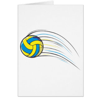 Volleyball Swish Card