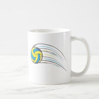 Volleyball Swish Coffee Mug