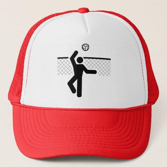 Volleyball Symbol Hat