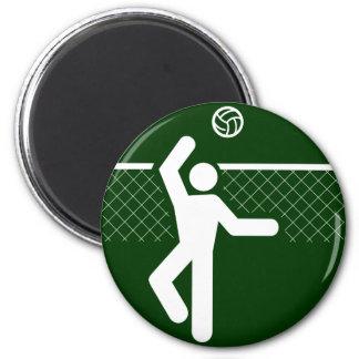 Volleyball Symbol Magnet