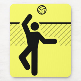 Volleyball Symbol Mousepad