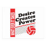 Volleyball T-Shirt Post Card