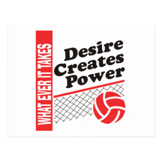 Volleyball T-Shirt Postcard