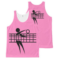 Volleyball Tank Top All-Over Print Tank Top