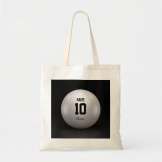 Volleyball Team Budget Tote Bag