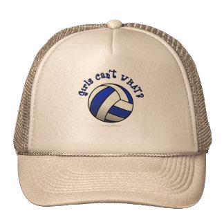 Volleyball Team Gifts - Blue Trucker Hat