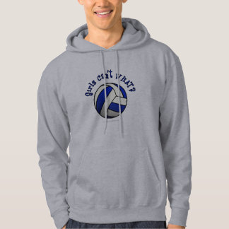 Volleyball Team Gifts - Blue Hoodie