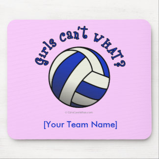 Volleyball Team Gifts - Blue Mouse Pad
