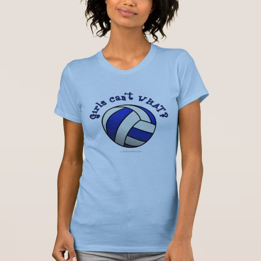 Volleyball Team Gifts - Blue Tank Tops