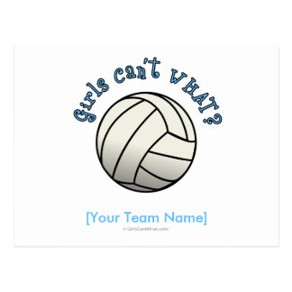 Volleyball Team Gifts - White Postcard