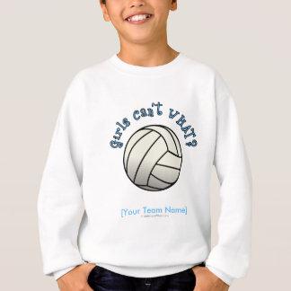Volleyball Team Gifts - White Sweatshirt