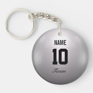 Volleyball Team Keychain
