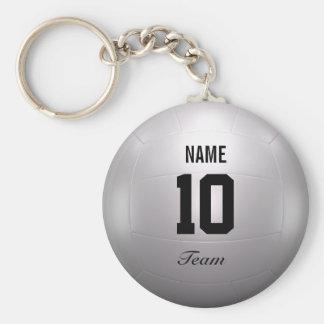Volleyball Team Keychain