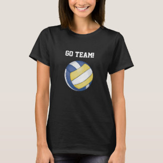 Volleyball Team Name and Number T-Shirt