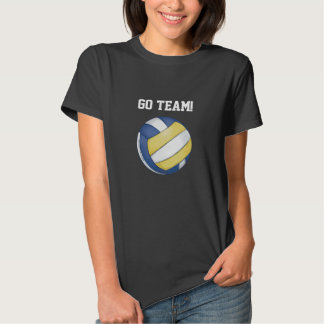 Volleyball Team Name and Number Tee Shirt