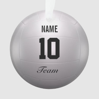 Volleyball Team Ornament