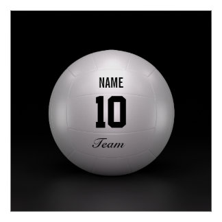 Volleyball Team Poster
