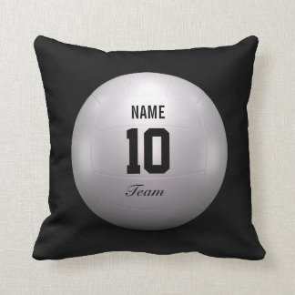 Volleyball Team Throw Pillow