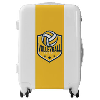 Volleyball Team. Your Official Luggage