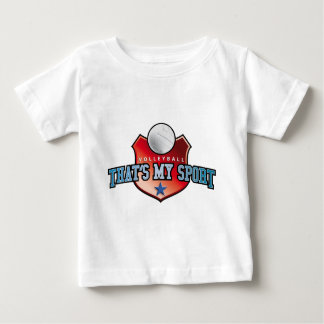 Volleyball - that's my sport baby T-Shirt