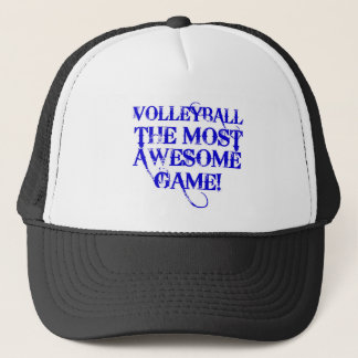 volleyball the most awesome game trucker hat