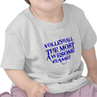 volleyball the most awesome game t shirt