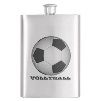 VOLLEYBALL THEME FLASK