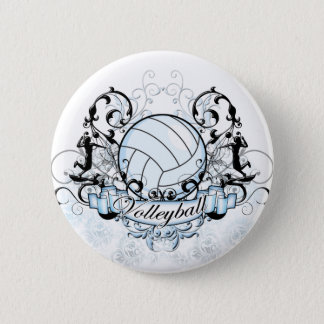 Volleyball Tribal Button