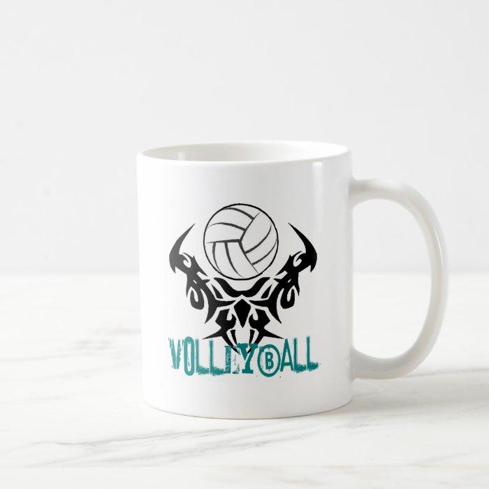 Volleyball Tribal Coffee Mug