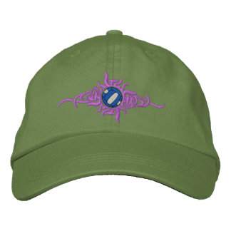 Volleyball Tribal Embroidered Baseball Hat