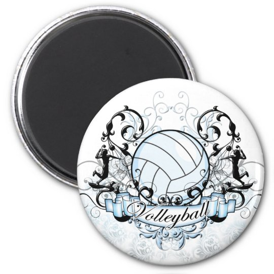 Volleyball Tribal Magnet