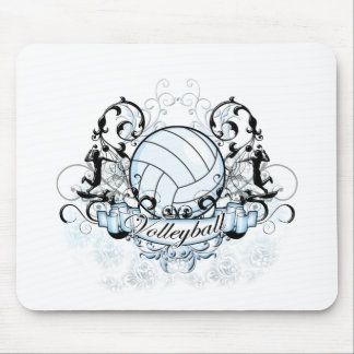 Volleyball Tribal Mouse Pad