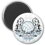 Volleyball Tribal Refrigerator Magnet