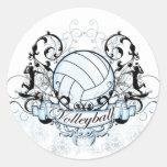 Volleyball Tribal Sticker