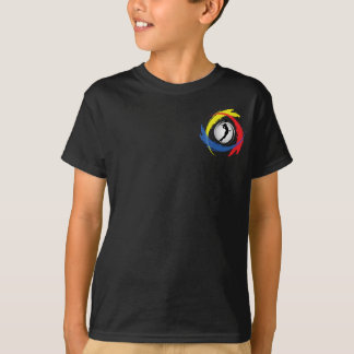 Volleyball Tricolor Emblem (Female) T-Shirt
