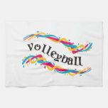 Volleyball Twists Hand Towel