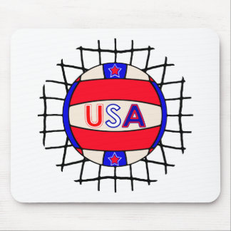 Volleyball USA Mousepad
