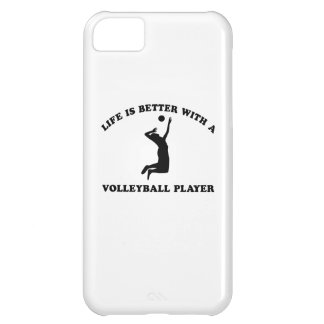 Volleyball Vector Designs iPhone 5C Cases