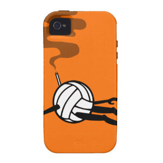 Volleyball Vibe iPhone 4 Covers