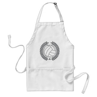 VolleyBall Vintage Graphic Adult Apron