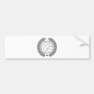 VolleyBall Vintage Graphic Bumper Sticker