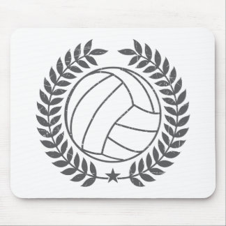VolleyBall Vintage Graphic Mouse Pad