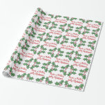 Volleyball Volley Jolly Wrapping Paper
