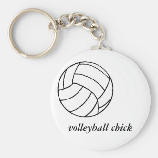 volleyball, volleyball chick keychain