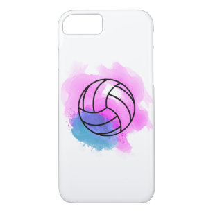 low priced d4514 ffc04 Volleyball Watercolor iPhone 8/7 Case