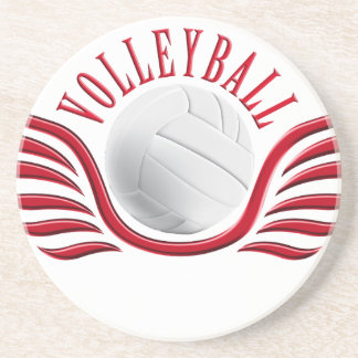 volleyball wings drink coaster
