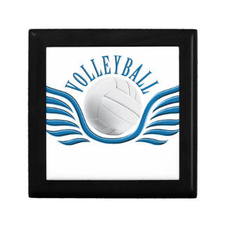 volleyball wings jewelry box