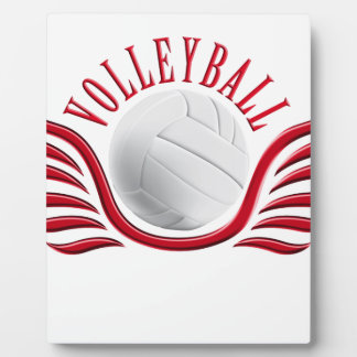 volleyball wings plaque