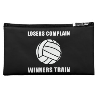 Volleyball Winners Train Cosmetic Bag
