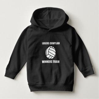Volleyball Winners Train Toddler Hoodie